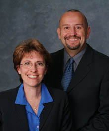 Portrait of Mark & Monika Robinson