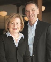 Portrait of Nancy and Dennis Lynch