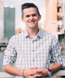 Portrait of Sam Peterson