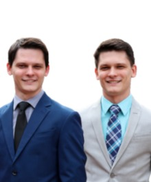 Portrait of Property Twins