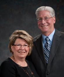 Portrait of Peter & Kaye Erdman