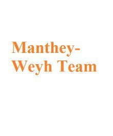 Portrait of The Manthey-Weyh Team