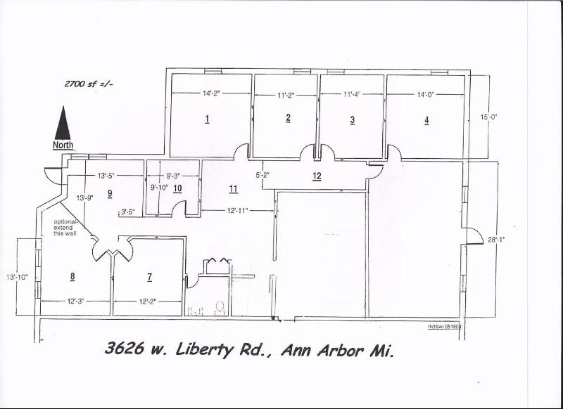 3626 West Liberty,  Ann Arbor, MI 48103 by Conlin Company $3,150
