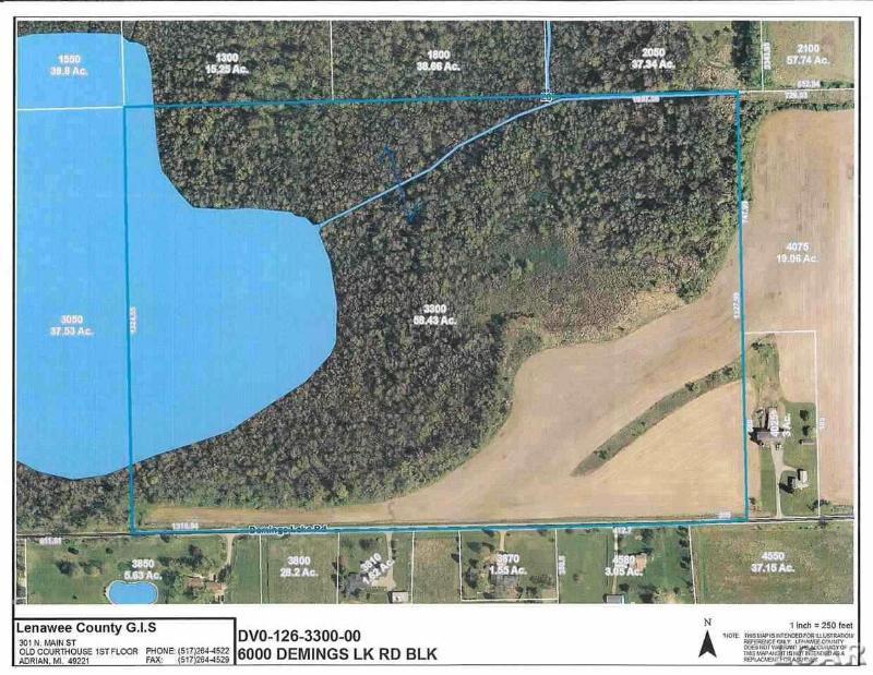 6000 DEMINGS LAKE RD BLK Clayton, MI 49235 by Gil Henry & Associates $174,900
