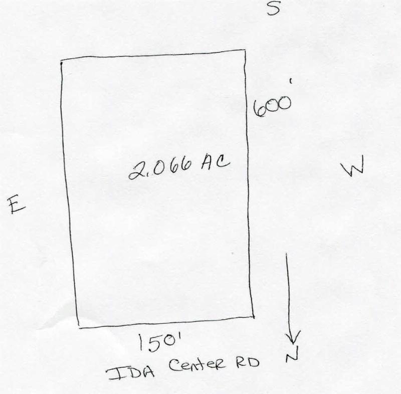 0 IDA CENTER Ida, MI 48140 by Real Estate 4u $43,000
