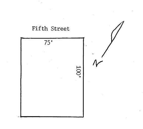 0 FIFTH STREET Monroe, MI 48162 by Berkshire Hathaway Hudkins Realtors $12,000
