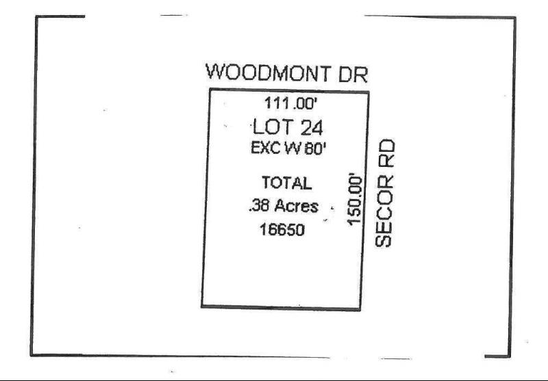 0 WOODMONT Temperance, MI 48182 by The Danberry Company $29,900