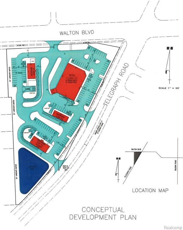 Vl Telegraph/Walton,  Pontiac, MI 48340 by Wilhelm & Assoc Inc, Realtor® $999,900