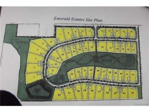 LOT-41 EMERALD VALLEY Loop Handy Township, MI 48836 by Harmon Real Estate Llc $39,900