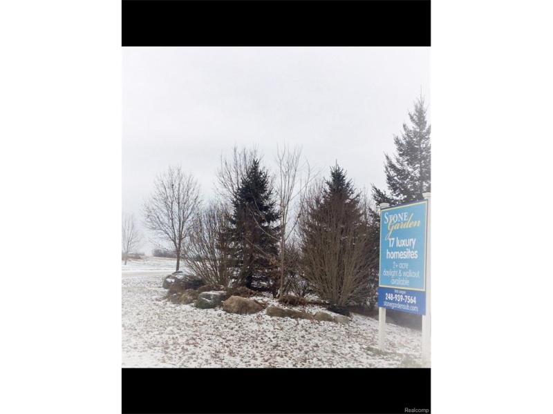 Lot 6 Stone Garden Dr,  Howell, MI 48843 by Keller Williams Rlty-Brighton $35,000