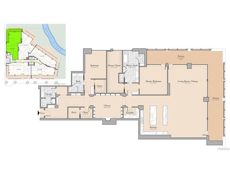 369 N Old Woodward Ave #505,  Birmingham, MI 48009 by Keller Williams Domain Birmingham $3,400,000