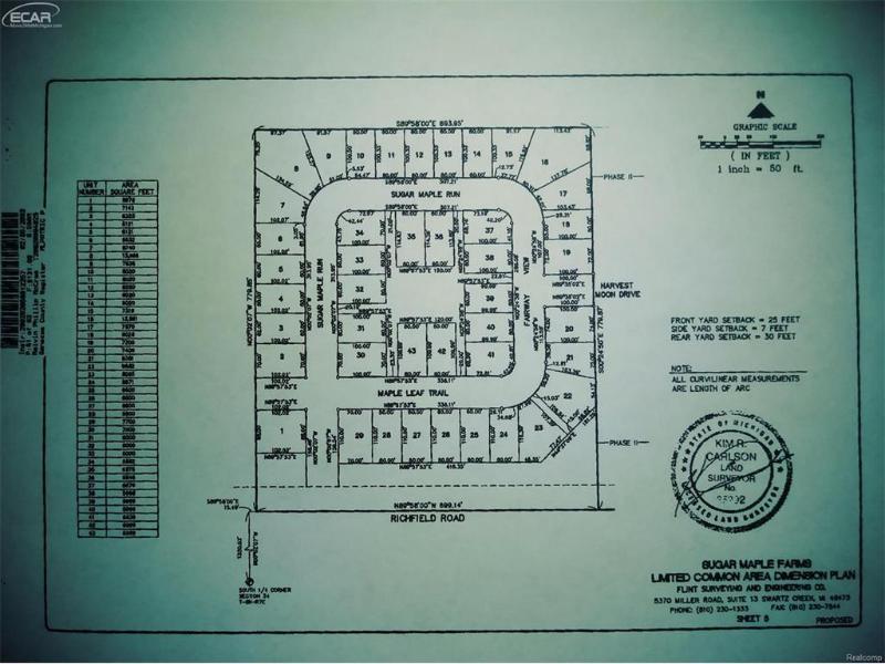 0 Richfield Flint, MI 48506 by Century 21 Woodland Realty $163,000