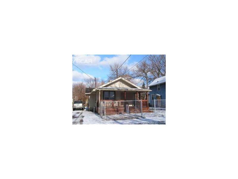 1641  Maryland Ave,  Flint, MI 48506 by American Associates Inc. $15,000