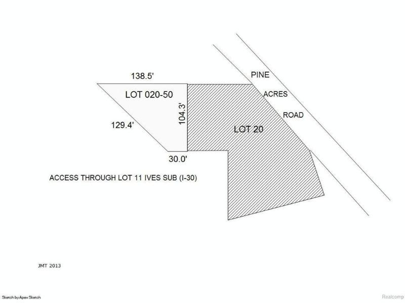 6056  Ives St,  Hale, MI 48737 by American Associates Inc. $39,900