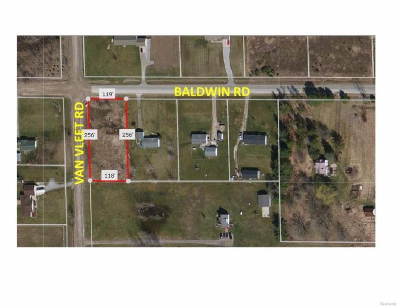 9525  Baldwin Rd,  Gaines, MI 48436 by Keller Williams Realty $15,000