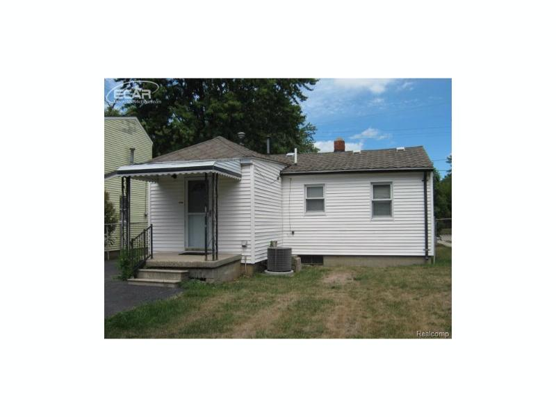 1322  Wells St,  Burton, MI 48529 by American Associates Inc $18,950