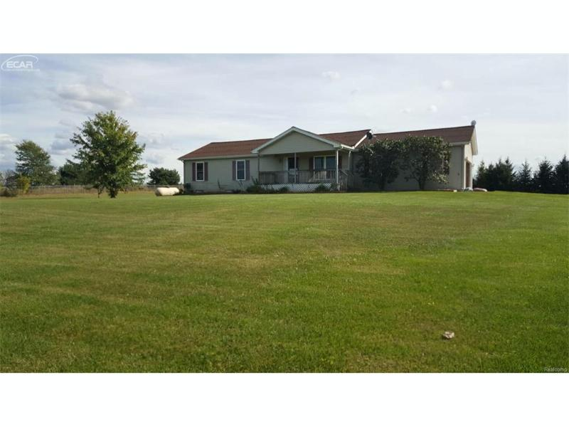 4560  Peck Rd,  North Branch, MI 48461 by Remax Real Estate Team $159,900