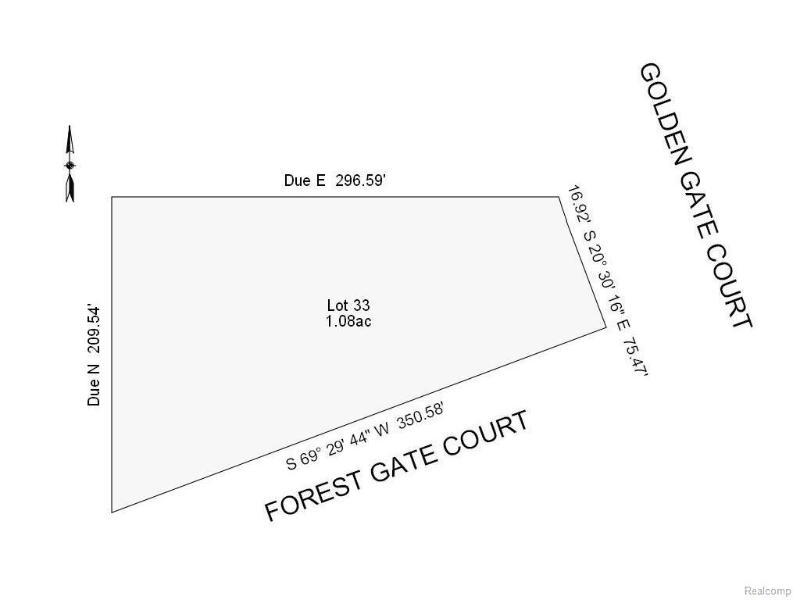 33  Forest Gate Ct,  Grand Blanc, MI 48439 by Remax Grande $79,900