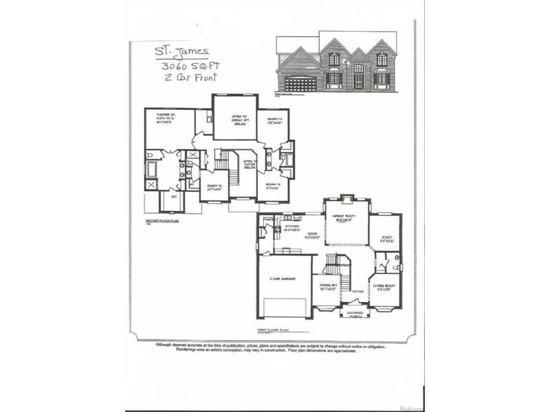 6393  Crossbow Ct,  Grand Blanc, MI 48439 by Real Living Tremaine Real Estate.com $349,900