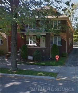 837 Beaconsfield Grosse Pointe Park, MI 48230 by Grosse Pointe Apartments Llc $1,000