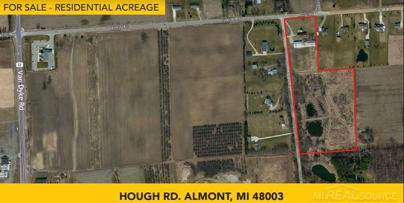 0 Hough,  Almont, MI 48003 by Pilot Property Group Inc $395,000