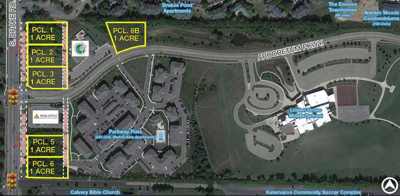 601 S Drake Road Pcl 5,  Kalamazoo, MI 49007 by Bradley Company $500,000