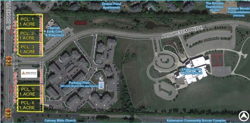 601 S Drake Road Pcl 1A,  Kalamazoo, MI 49006 by Bradley Company $750,000