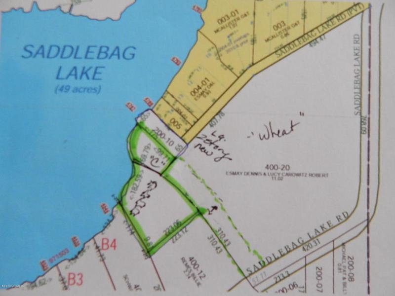Vacant Saddlebag Lake Rd,  Woodland, MI 48897 by Freshwater Properties $79,000