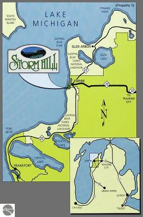 11750 (Lot 25) N Storm Hill Drive,  Empire, MI 49630 by Real Estate One $224,000