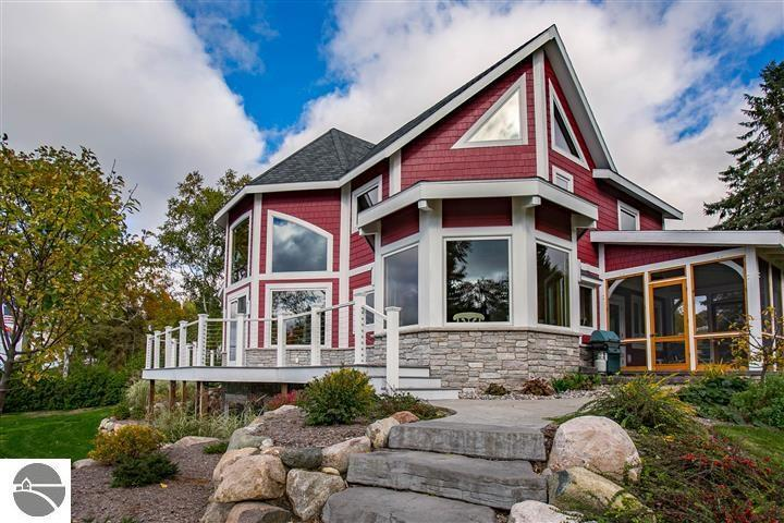 8040 S Lakeview Road,  Traverse City, MI 49684 by Coldwell Banker Schmidt-402 $1,895,000