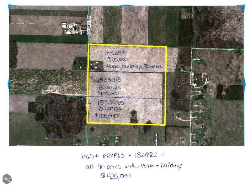 8599 Schichtel Road,  Kingsley, MI 49649 by Coldwell Banker Schmidt-402 $105,000