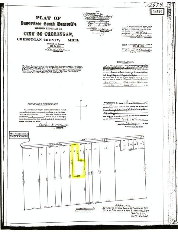 Harrison Avenue,  Cheboygan, MI 49721 by Exit Realty Premier $7,500