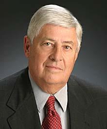 Portrait of J. Michael Baker, Vice President