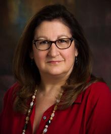 Portrait of Kathy Schneider