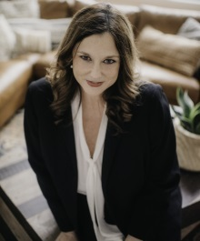Portrait of Laura Collins, Manager