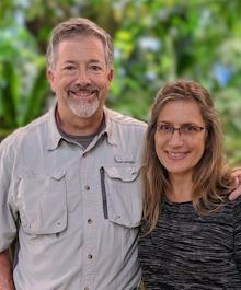 Portrait of Danielle & Rick Zoerb
