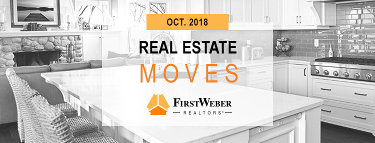Real Estate MOVES from First Weber Realtors, October 2018