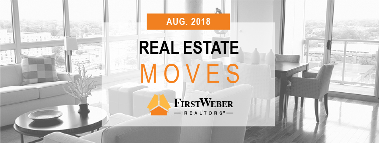 Real Estate MOVES from First Weber Realtors, August 2018