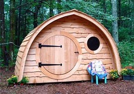 HOBBIT HOLE SHED
