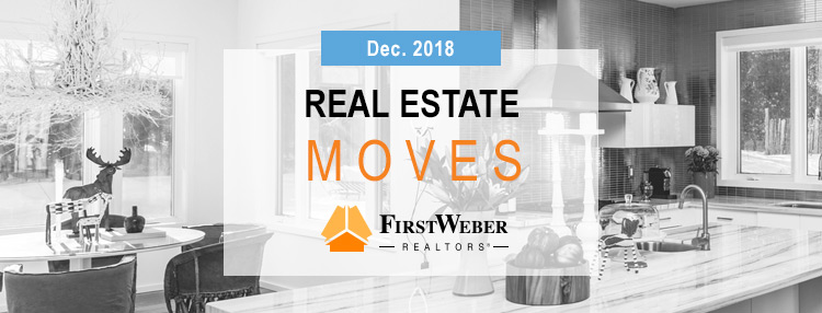 Real Estate MOVES from First Weber Realtors, December 2018