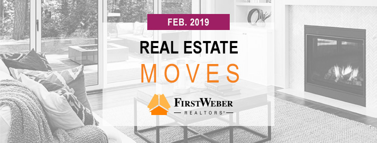 Real Estate MOVES from First Weber Realtors, February 2019