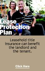 Leasehold Title Insurance