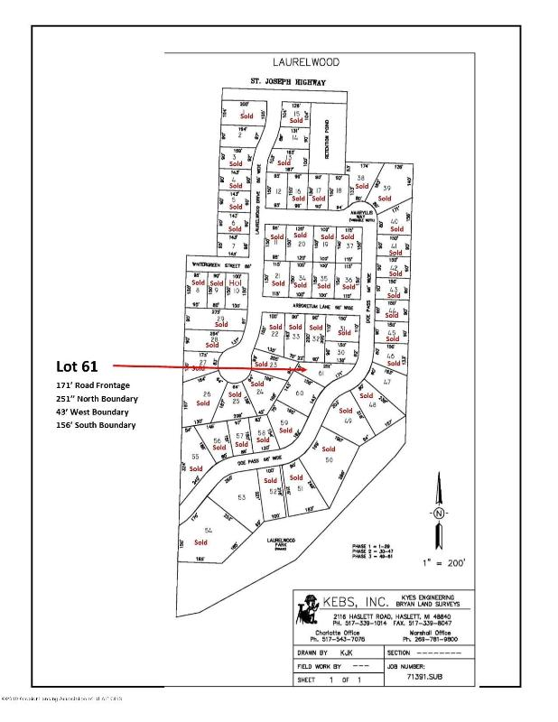 Listing Photo for LOT 61 Doe Pass